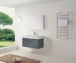 39 bathroom vanity cabinet. virtu usa zuri 39 single bathroom vanity cabinet set in grey