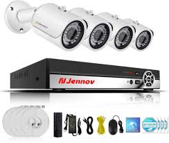 Jennov POE Security Camera System 4 Channel 1080P PoE CCTV IP (eBay Link)