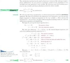 what is back substitution math 2 solve systems by substitution substitution math definition simple