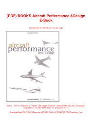 Aircraft Design Pdf Free Download Pdf Books Aircraft Performance Design E Book