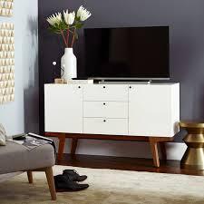 white media console furniture. Modern Media Console 53 White West Elm In Cabinet Remodel 7 Furniture