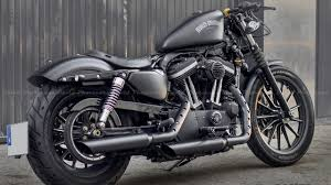harley davidson iron 883 custom exhaust sound youtube