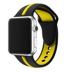 double color apple silicone strap for apple watch 40mm 44mm 38mm 42mm smart watch band for series 4 3 2 1 iwatch