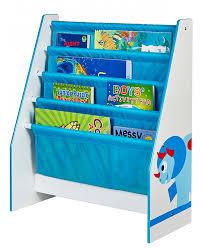 dinosaurs wood frame sling bookcase