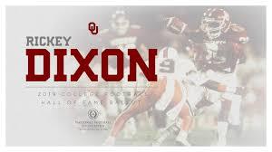rickey dixon on 2019 college football hof ballot