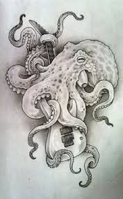 Small Picture yeeeeeah octopus all of the love things Pinterest Tattoo