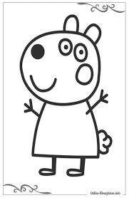 Kleurplaten Van Peppa Pig