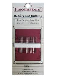 34 best Piecemakers Needles images on Pinterest | Ps, Dolls and ... & Piecemakers Betweens/Quilting Needles Size 12 – Piecemakers high quality  fine hand sewing needles are Adamdwight.com
