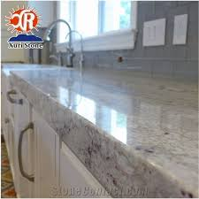 whole river white granite countertop polished surface