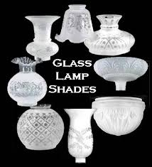 glass lamp shades at the antique lamp co