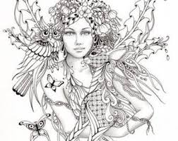 Gothic Fairy Free Coloring Pages On Art Coloring Pages