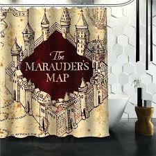 harry potter curtains custom classic harry potter map bathroom waterproof shower curtain durable classic bathroom decorative best gift harry potter curtains