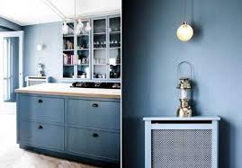 blue kitchen wall colors. Modren Wall Modern Kitchen Paint Colors Cool Blue For Wood Attractive  Wall With E