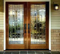 glass double front door. Front Doors For Homes Double Wood Entry . Glass Door