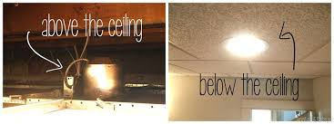 drop ceiling installation incredible how to install can lights in a drop ceiling ceiling designs within