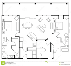 Floor Plan Clipart  ClipgroundFurniture Clipart For Floor Plans