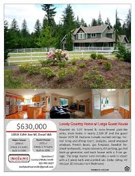 listing a home the snoqualmie re company snoqualmie real estate professional flyer listing