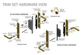 door parts diagram series patio door hardware parts diagram door hardware parts diagram door parts