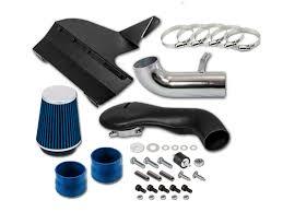 96 04 chevy s10 blazer gmc sonoma jimmy 4 3l v6 heat shield cold air intake blue filter