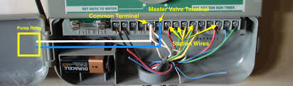 sprinkler master pump valve wiring blog master valve relay diagram