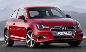 2018 audi a1 rendered with a4 and prologue styling details