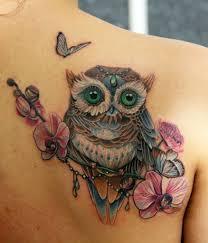 что значит тату сова с часами тату сова стили оригинальные идеи и