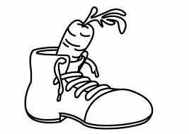 Kleurplaat Schoen Voor De Sint Afb 26419 Images