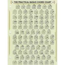 Ducks Deluxe Practical Banjo Chord And Fretboard Chart