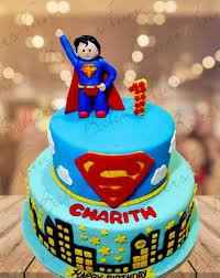 Order Online Superman Birthday Cake For Boys At Best Prices From