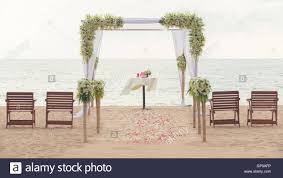 Simple Wedding Setup Designs Simple Style Wedding Arch And Decoration Venue Setup On