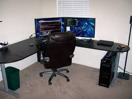 black corner computer desk ikea