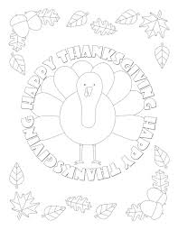 Free printable coloring pages thanksgiving coloring pages. Thanksgiving Coloring Pages