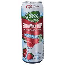 Is There Tequila In Bud Light Strawberita Bud Light Strawberita 25oz Cans