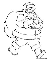 Small Picture Trend Santa Claus Coloring Page 69 About Remodel Free Colouring