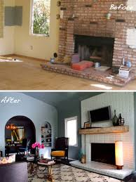 pin kishani perera s fireplace makeover