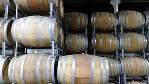 Storage oak wine barrels Table Forklift Transporting Oak Wine Barrels In Storage Australia Royaltyfree Stock Video Ebay Forklift Transporting Oak Wine Barrels In Storage Australia Stock