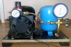 diy air compressor diy small air compressor with active cooling