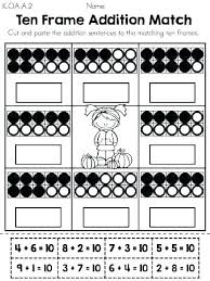 double ten frame super pack frames worksheets contains all curious kindergarten great math using pic free geek luxury autumn wo