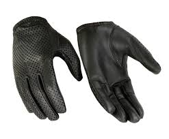 women s air pro sport water resistant leather driving motorcycle police glove