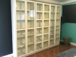 bookshelf with glass doors canada 3 bookcases bookcase and tall bookcase with glass doors