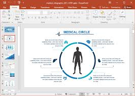 Infographics For Powerpoint Animated Medical Infographic Powerpoint Template
