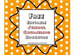 Free Download Elementary School Counseling Brochure Work