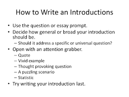 composition five paragraph essay introductions and thesis  4 how to write