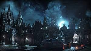 Black castle digital game wallpaper ...