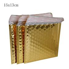 small bubble mailers. 13*15cm+4cm Small CD/CVD Packaging Shipping Bubble Mailers Gold Paper Padded Envelopes Bag Mailing Envelope Bag-in Gift Bags \u0026 Wrapping Supplies From X
