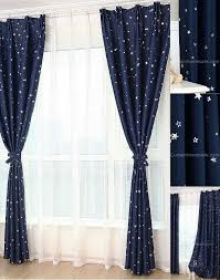 curtains and ds beautiful window treatments affordable dark blue star blackout fiber antique chic
