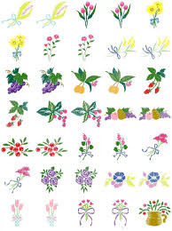 Free Embroidery Designs Jef Format Free Embroidery Designs Download Floral Fruit Brother