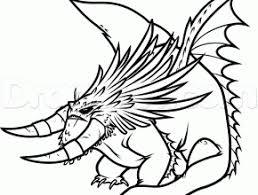 Small Picture Free Coloring Pages Of Alpha Dragon 2 How To Train Your Dragon