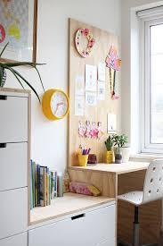 diy plywood kid s desk area and ikea hack ez s bedroom