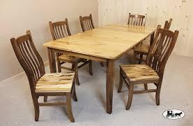 hickory wood dining set. dining set hickory wood h
